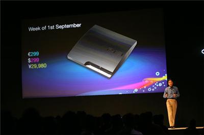 UPDATE: GamesCom 2009: De PS3 Slim wordt eindelijk werkelijkheid