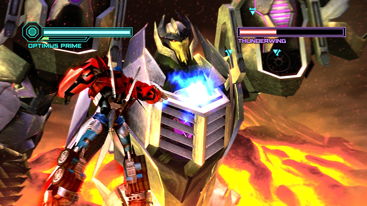Transformers Prime: The Game (Wii U Screenshot)