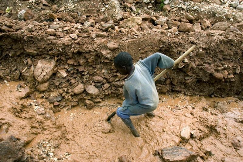 Bron Environmental Justice Atlas: Kinderarbeid in Congolese Mijn